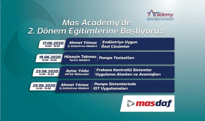 Mas Academy'de 2. Dönem Kayıtları Başladı